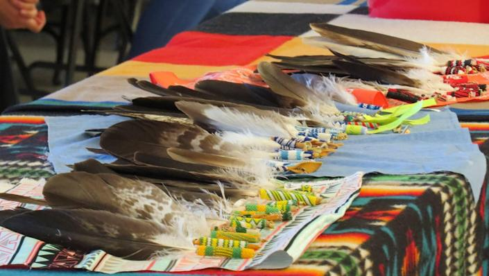 The Indian Education for All department this year awarded 49 Indigenous high school graduates eagle feathers to mark their achievement.