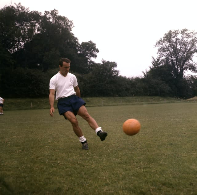 Jimmy Greaves remains Tottenham's all-time top scorer