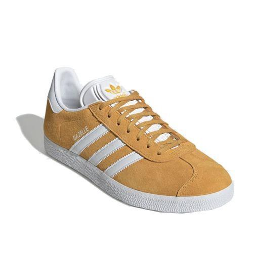 "<p><a class=""link rapid-noclick-resp"" href=""https://go.redirectingat.com?id=127X1599956&url=https%3A%2F%2Fwww.adidas.co.uk%2Fgazelle-shoes%2FEE5507.html&sref=https%3A%2F%2Fwww.esquire.com%2Fuk%2Fstyle%2Fshoes%2Fg9894%2Fbest-mens-trainers%2F"" rel=""nofollow noopener"" target=""_blank"" data-ylk=""slk:SHOP"">SHOP</a></p><p>The nights are long. The days are short. The pandemic is in full swing. But get a pair of Adidas Gazelles on your feet – in a sunny shade of yellow, no less – and bop through your one daily window of exercise like it's a Katrina & The Waves video. Winter's so great!<br></p><p>Gazelle Active Gold Trainers, £74.95, <a href=""https://go.redirectingat.com?id=127X1599956&url=https%3A%2F%2Fwww.adidas.co.uk%2Fgazelle-shoes%2FEE5507.html&sref=https%3A%2F%2Fwww.esquire.com%2Fuk%2Fstyle%2Fshoes%2Fg9894%2Fbest-mens-trainers%2F"" rel=""nofollow noopener"" target=""_blank"" data-ylk=""slk:adidas.co.uk"" class=""link rapid-noclick-resp"">adidas.co.uk</a></p>"