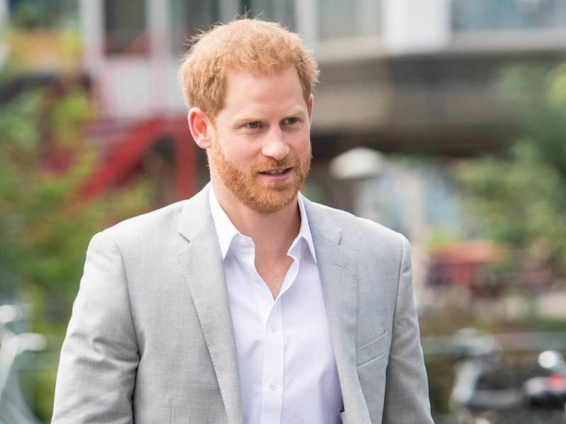 Prince Harry drops royal title at first public event since moving to Canada