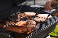 """<p>It falls behind Memorial Day and the Fourth of July, according to a consumer survey by the <a href=""""https://www.hpba.org/Resources/PressRoom/ID/516/2017-State-of-the-Barbecue-Industry-HPBAs-Consumer-Survey-Reveals-Grilling-and-Barbecuing-Is-a-Growing-Year-Round-Lifestyle"""" rel=""""nofollow noopener"""" target=""""_blank"""" data-ylk=""""slk:Hearth, Patio & Barbecue Association"""" class=""""link rapid-noclick-resp"""">Hearth, Patio & Barbecue Association</a>. So all the people who aren't spending the day shopping or working are probably <a href=""""https://www.goodhousekeeping.com/food-recipes/easy/g4504/labor-day-recipes/"""" rel=""""nofollow noopener"""" target=""""_blank"""" data-ylk=""""slk:firing up the grill."""" class=""""link rapid-noclick-resp"""">firing up the grill.</a><br></p>"""