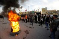 FILE PHOTO: Protests at the U.S. Embassy in Baghdad