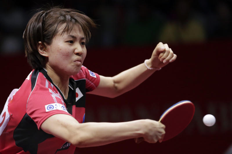 China advances at table tennis team championships