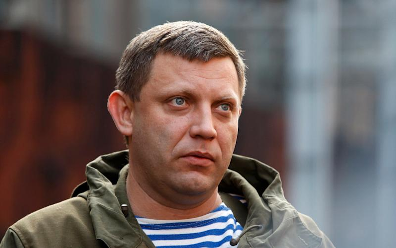 Alexander Zakharchenko, is believed to have been killed in an explosion in a Donetsk cafe