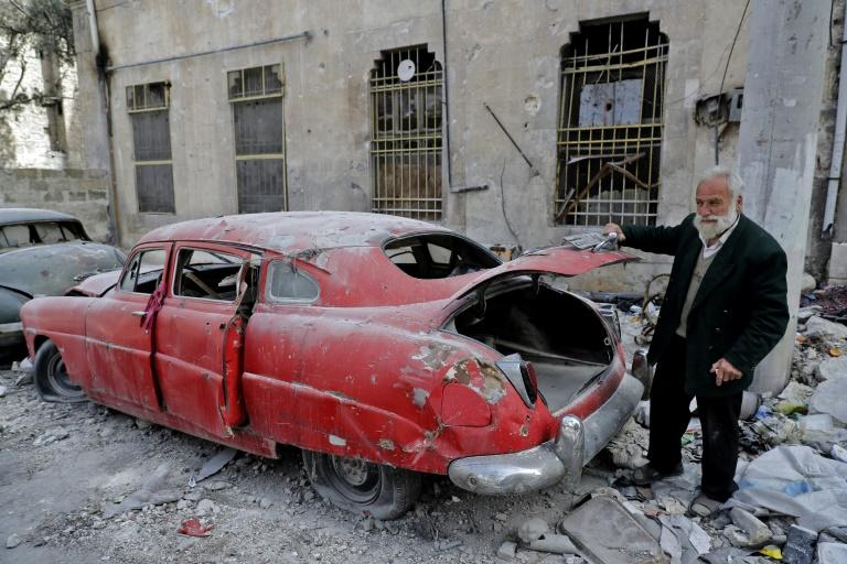 Aleppo resident 70-year-old Mohammad Mohiedine Anis has always had a passion for cars