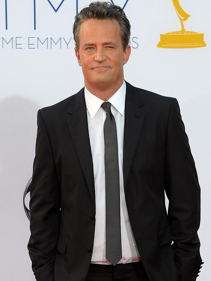 """""""<a href=""""http://tv.yahoo.com/shows/go-on/"""">Go On</a>"""" star Matthew Perry is a guest of NBC/NBC News."""