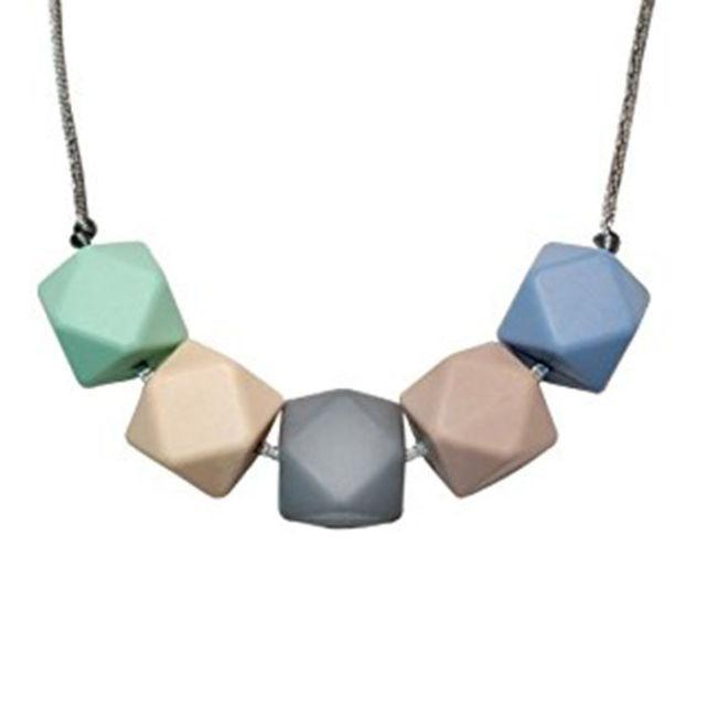 """<p>Mom won't need it for a while, but once her baby starts teething, this necklace will come in handy when she's on the go. <em>(Silicone teether necklace, MOOI BABY, $10)</em></p><p><a rel=""""nofollow noopener"""" href=""""https://www.amazon.com/Silicone-Teether-Necklace-Moms-Non-toxic/dp/B0171CFH70/?tag=syndication-20"""" target=""""_blank"""" data-ylk=""""slk:BUY NOW"""" class=""""link rapid-noclick-resp"""">BUY NOW</a></p>"""