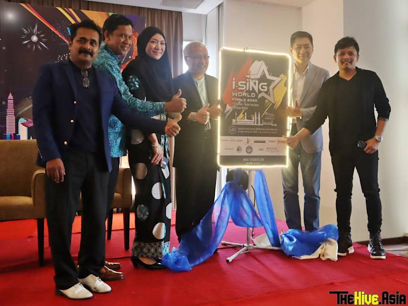 """The press conference for """"i-SiNG Malaysia 2020"""" and """"i-SiNG World Finals 2020"""" was held yesterday in Kuala Lumpur."""