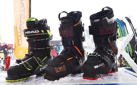 Three different models of Head ski boots - Credit: HEAD
