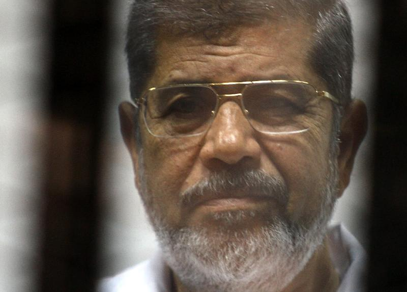 Former Egyptian president Mohamed Morsi, who died on June 17, 2019, had been in prison since his ouster nearly six years ago (AFP Photo/TAREK EL-GABASS)