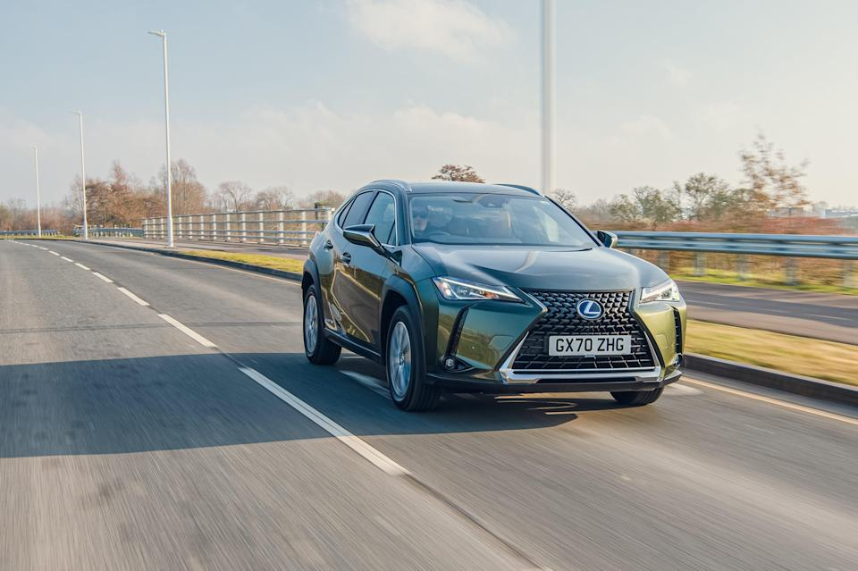 The Lexus UX 300e is the first 'proper' battery electric vehicle from the Toyota group (Lexus)