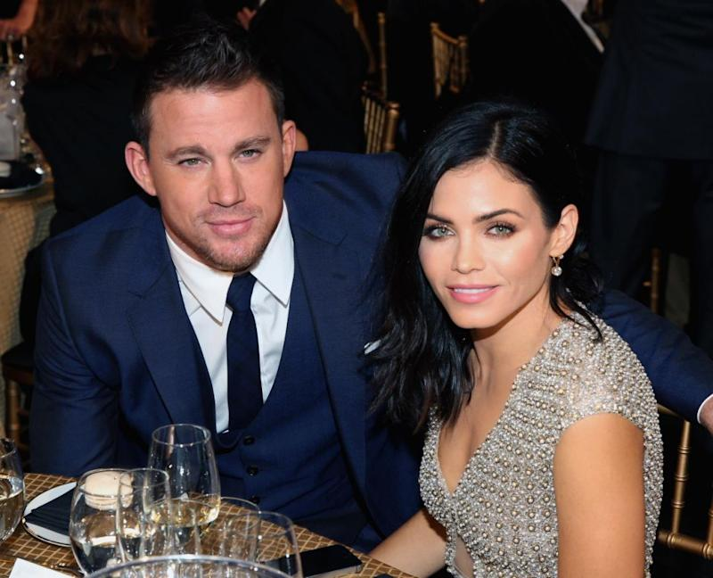 Channing and wife Jenna have been married for eight years. Source: Getty