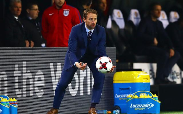 <span>Southgate's England impressed against Germany midweek but will want to follow it up with victory on Sunday</span> <span>Credit: Rex </span>