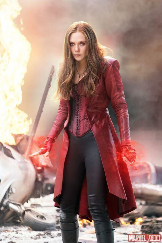 <p>The Scarlet Witch is a Marvel character who has fought both for and against the Avengers. Besides her amazing powers, she's got an incredibly cool coat and knee boots — so even when she's on the wrong side, she looks incredible!</p>