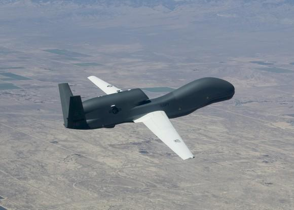 Northrop Grumman Global Hawk in flight