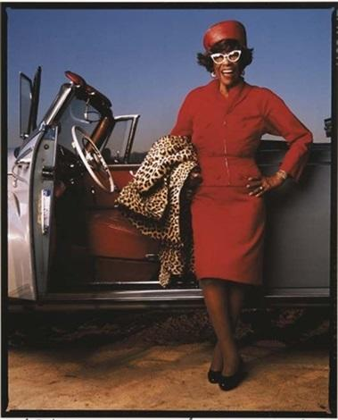 This is the Ella Fitzgerald photo that served as inspiration for Grandmama's distinctive look. (photo via Pete Favat)