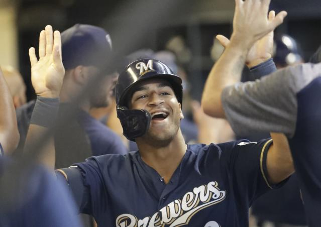 The Milwaukee Brewers keep winning and gaining ground in the NL standings. (AP Photo/Morry Gash)