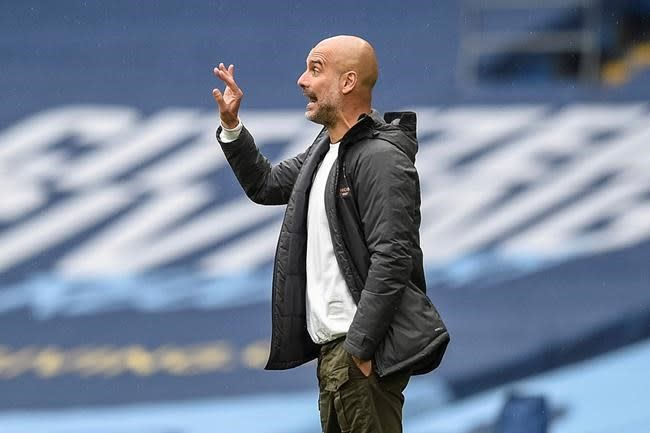 Guardiola attacks rivals for 'whispering' campaign v City