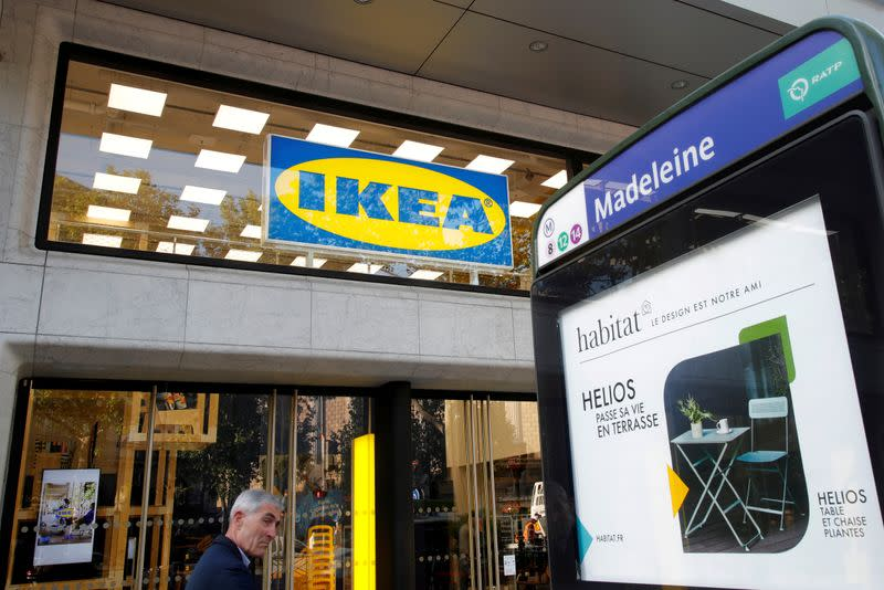 FILE PHOTO: General view of Swedish furniture giant IKEA store before its opening in the heart of Paris