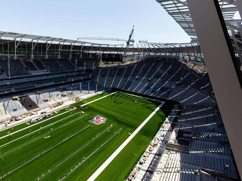 The stadium will also host NFL matches (Getty)