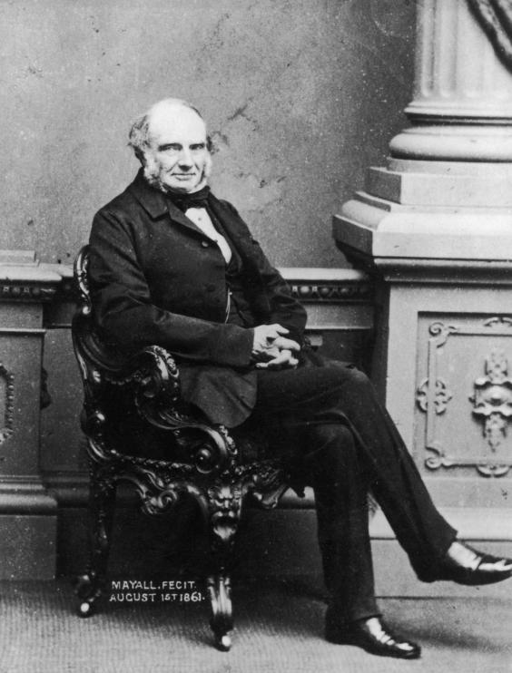 John Russell, 1st Earl Russell, pictured on 1 August 1861, between his two terms in office as prime minister (Photo by Mayall/Hulton Archive/Getty Images)
