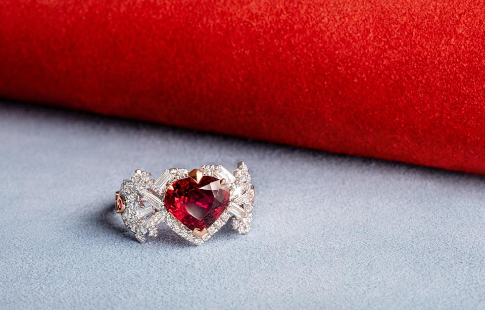 3-carat unheated Pigeon Blood Ruby. (PHOTO: Madly Gems)