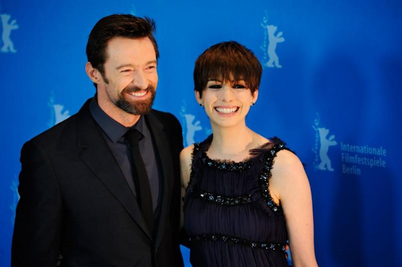 Hugh's former Les Miserables co-star Anne Hathaway also penned a touching tribute for his entry on the list calling his talent