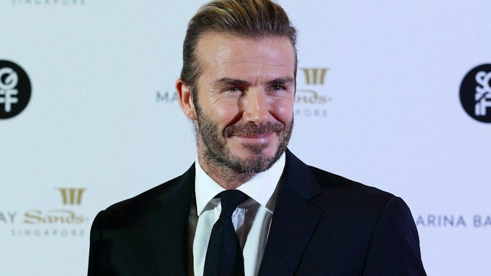 There's nothing David Beckham can't pull off.