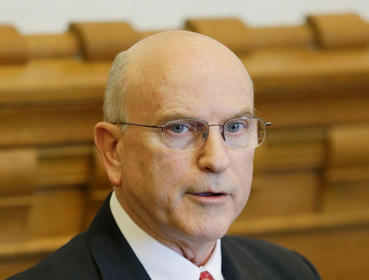 Indiana state Sen. Dennis Kruse (R) has reportedly introduced a total of six creationism-related bills since 2000. (Photo: Darron Cummings/ASSOCIATED PRESS)