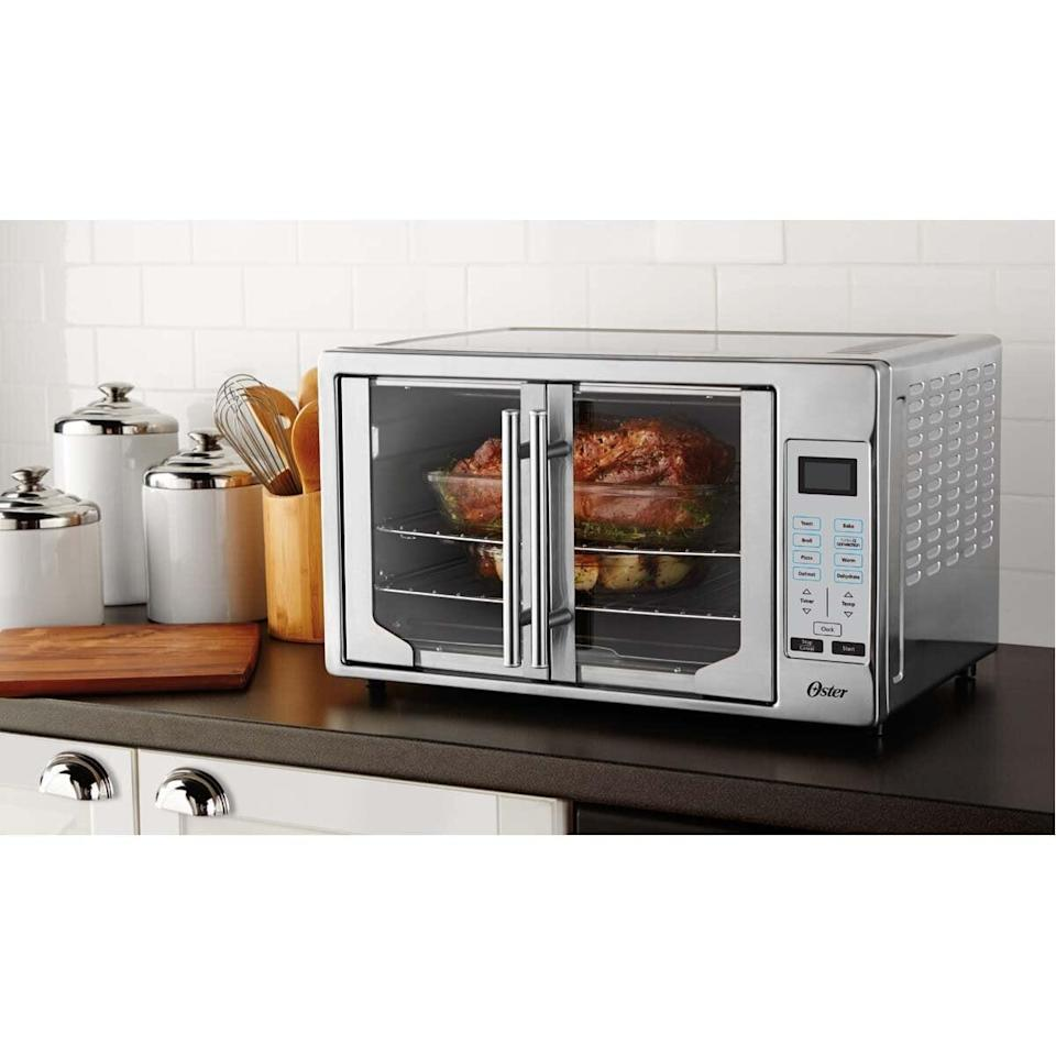 <p>Get this <span>Oster Digital French Door Toaster Oven</span> ($230, originally $250) for the chef in your life.</p>