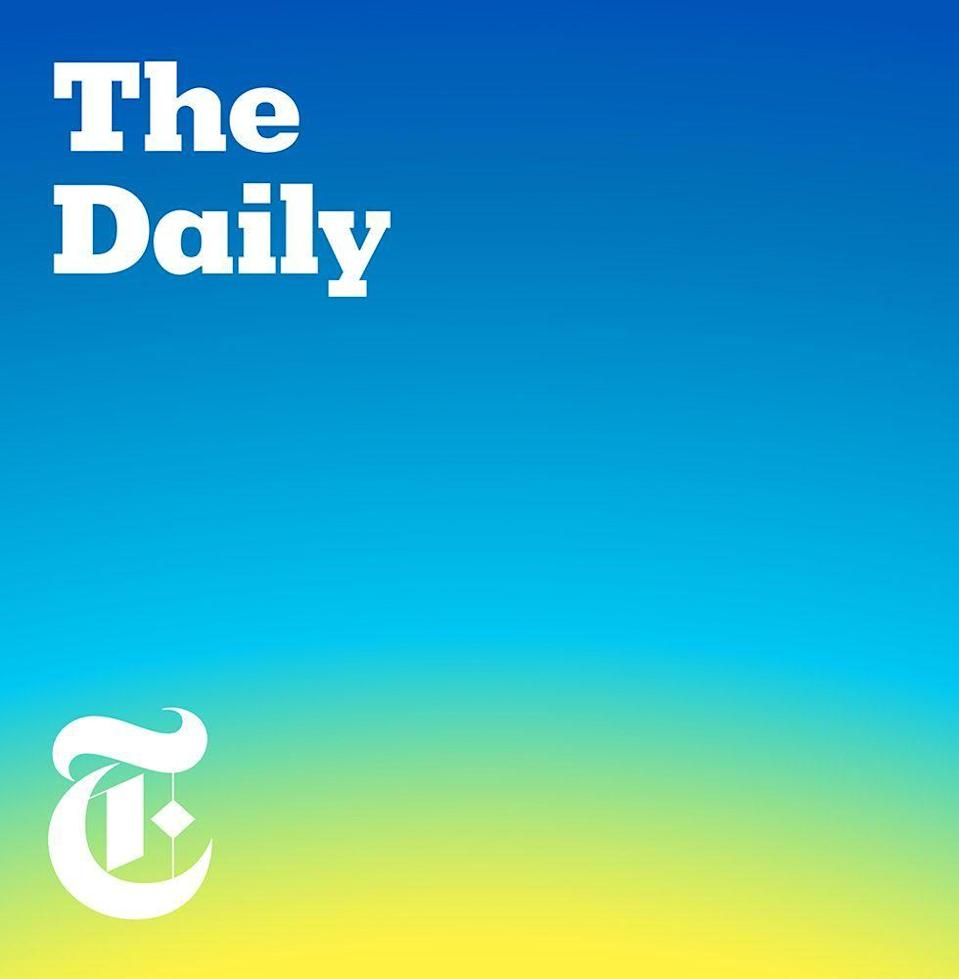 """<p>If you only listen to one news podcast, make it this one. Host Michael Barbaro breaks down the biggest news of the day (hence the name) in a format that will make you feel like you know what's happening out there. My dad used to listen to NPR in the mornings. Now, he's a <em>Daily</em> convert. So there you go. </p><p><a class=""""link rapid-noclick-resp"""" href=""""https://www.stitcher.com/podcast/the-new-york-times/the-daily-10"""" rel=""""nofollow noopener"""" target=""""_blank"""" data-ylk=""""slk:LISTEN NOW"""">LISTEN NOW</a></p>"""