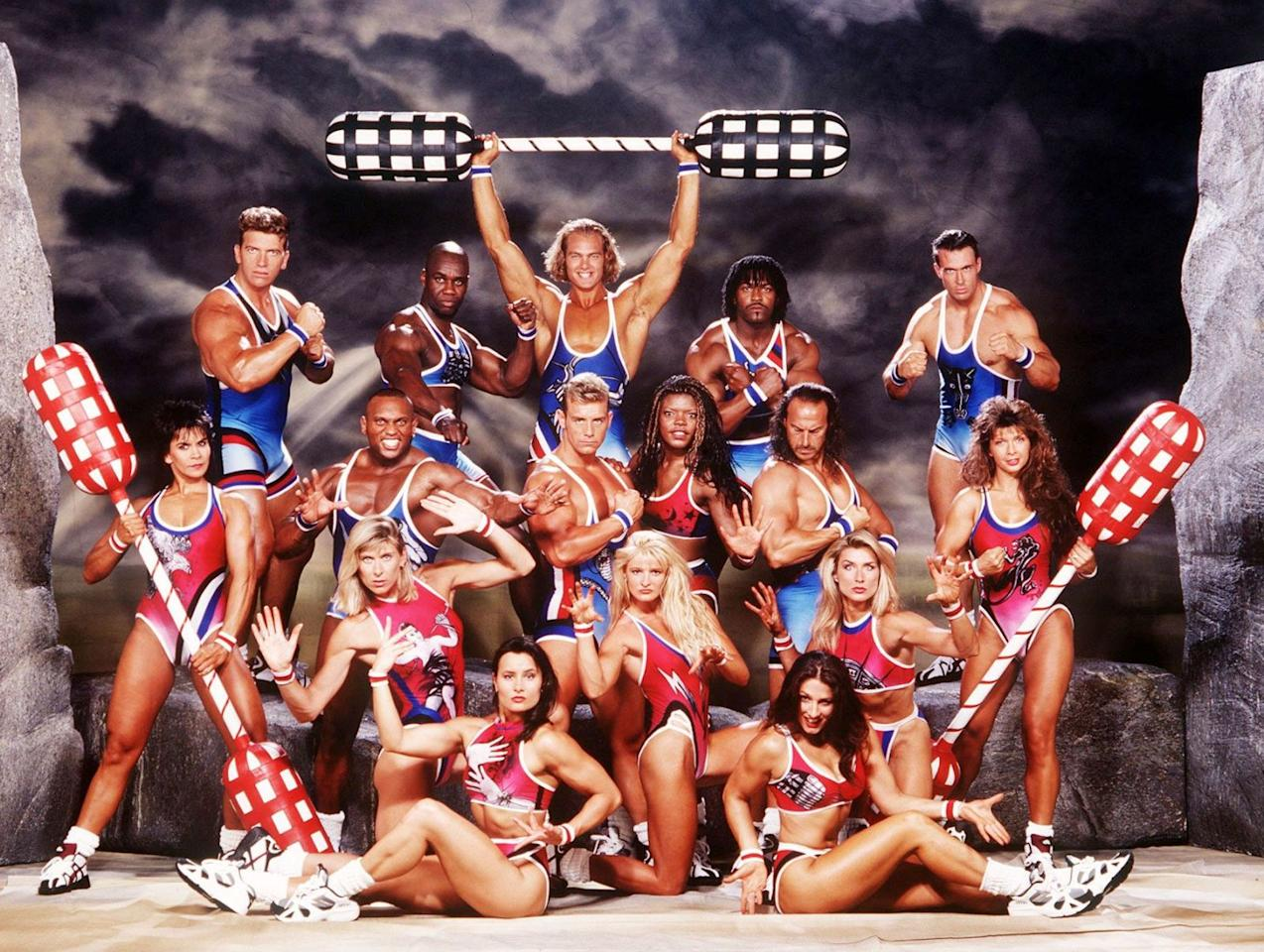<p>They were seemingly superhuman powerhouses, forces to be reckoned with – and only occasionally tamed by strict referee John Anderson. Originally hosted by John Fashanu and Ulrika Jonsson, <em>Gladiators</em> launched 25 years ago this month. But where are those man- and woman-mountains now?<span></span></p>