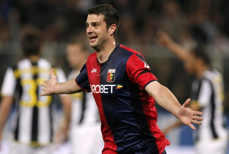 New Genoa manager Thiago Motta played for the club ad scored against Juventus in 2009