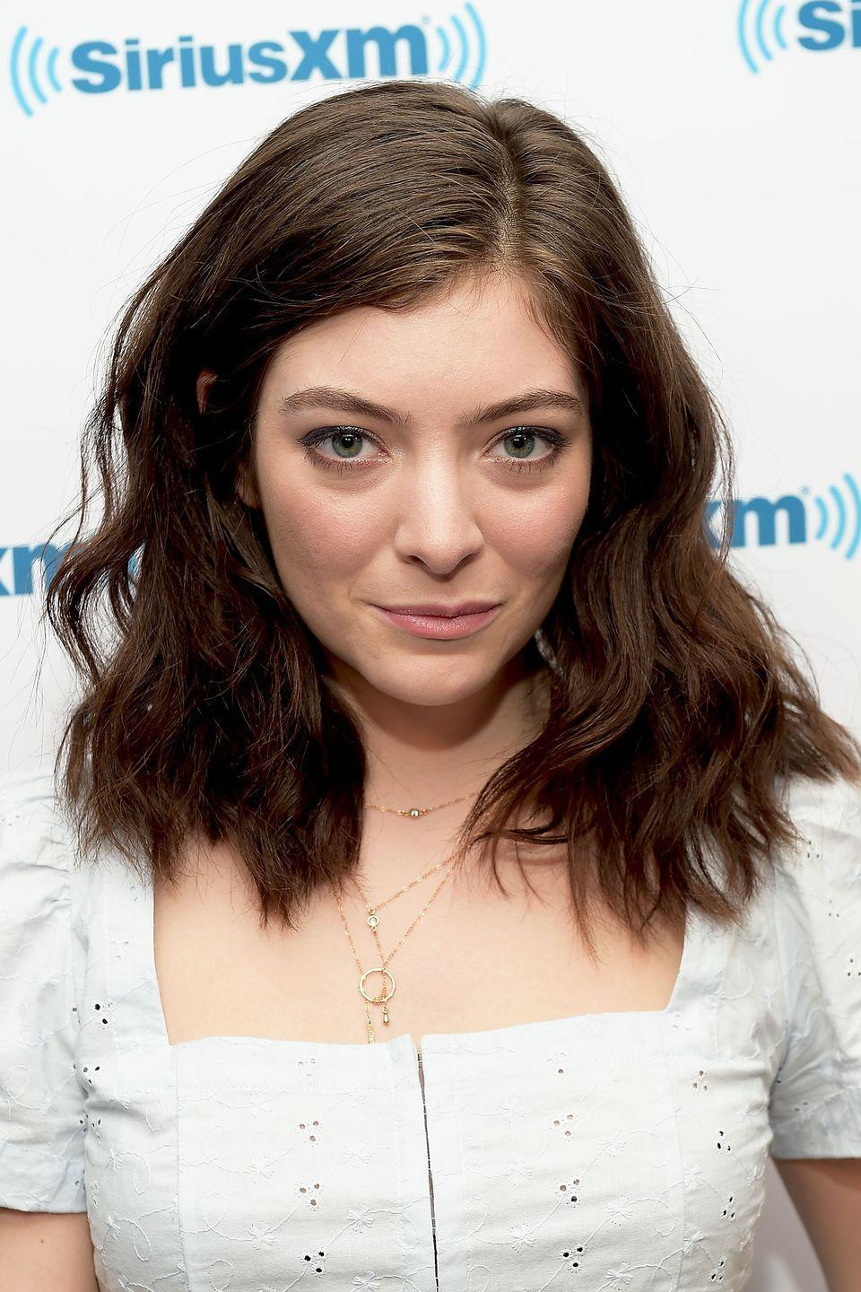 """<p><strong>Real name: </strong>Ella Yelich-O'Connor</p><p>On the topic of how she chose her stage name, Lorde explained to <a href=""""http://www.justjaredjr.com/2017/05/15/lorde-reveals-why-she-doesnt-go-by-her-real-name-ella-yelich-oconnor/"""" rel=""""nofollow noopener"""" target=""""_blank"""" data-ylk=""""slk:Rolling Stone"""" class=""""link rapid-noclick-resp"""">Rolling Stone</a>: """"I don't know, it's a bit boring: Ella Yelich-O'Connor. Can you imagine them shouting it at a festival? It just made sense to me to elevate it.""""</p>"""