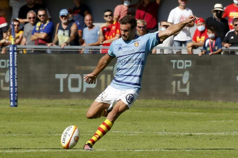Melvyn Jaminet scored 41 points in three Tests against Australia in July (AFP/RAYMOND ROIG)