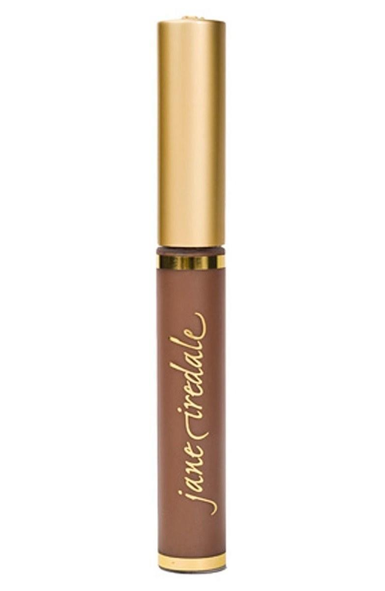 "If you have thick brows, you might want to try a brow gel to gently sculpt instead of penciling them in. Choose a lightweight formula with some pigment to even out your brow color (or cover grays, if you have them). Jane Iredale PureBrow Gel is a smart pick because its chemical-free formula is safe enough to use on your lashes too. $19, Jane Iredale PureBrow Gel. <a href=""https://shop-links.co/1674788788804568912"" rel=""nofollow noopener"" target=""_blank"" data-ylk=""slk:Get it now!"" class=""link rapid-noclick-resp"">Get it now!</a>"