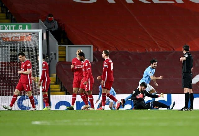 Liverpool suffered a chastening loss to Manchester City last weekend