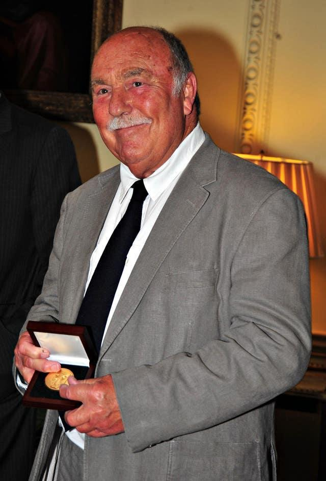 Jimmy Greaves was finally awarded with a winners' medal from the 1966 World Cup in 2009