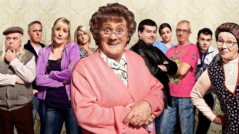 The cast of Mrs Brown's Boys (Photo: BBC)