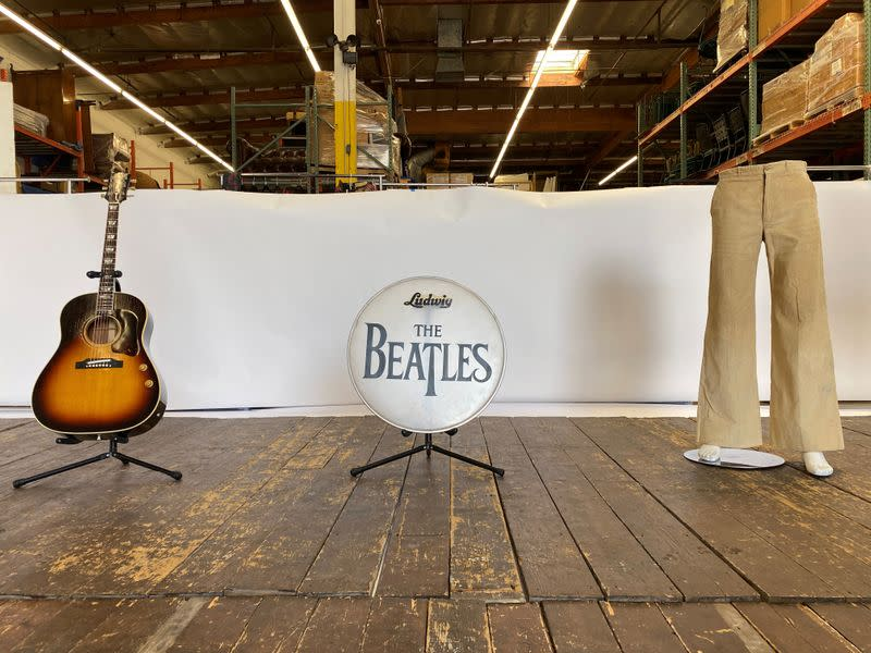 Money can buy you early Beatles stage at New York auction
