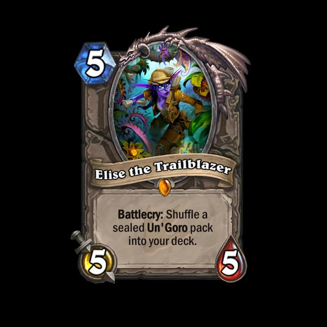 <p>It's worth noting that Elise guarantees the player who draws the pack at least one Epic card, ensuring some serious value. The fact that Elise is a neutral means that she'll see a solid amount of play in midrange and control decks. </p>