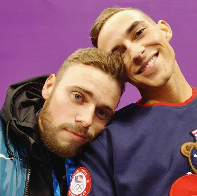 <p>Gus Kenworty USA, freeskiing<br>guskenworthy: I'm a proud dad, today. ❤️<br> (Photo via Instagram/guskenworthy) </p>