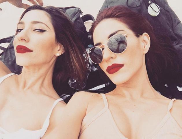The Veronicas divide their time between home in Brisbane and LA. Image: Instagram