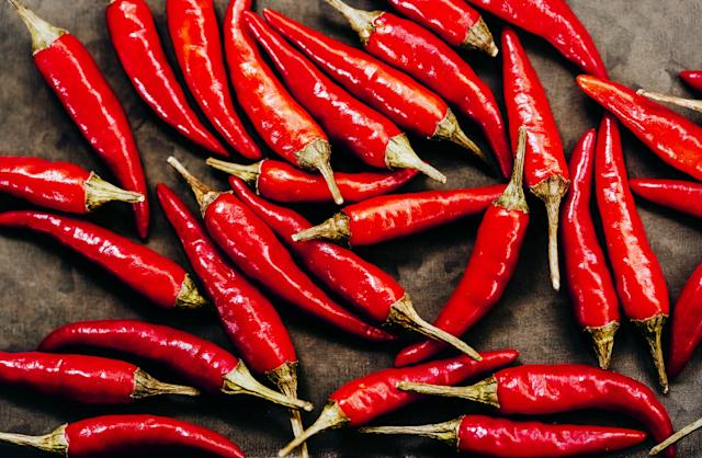 Adding chillies to meals four times a week could be good for the heart. (Getty)
