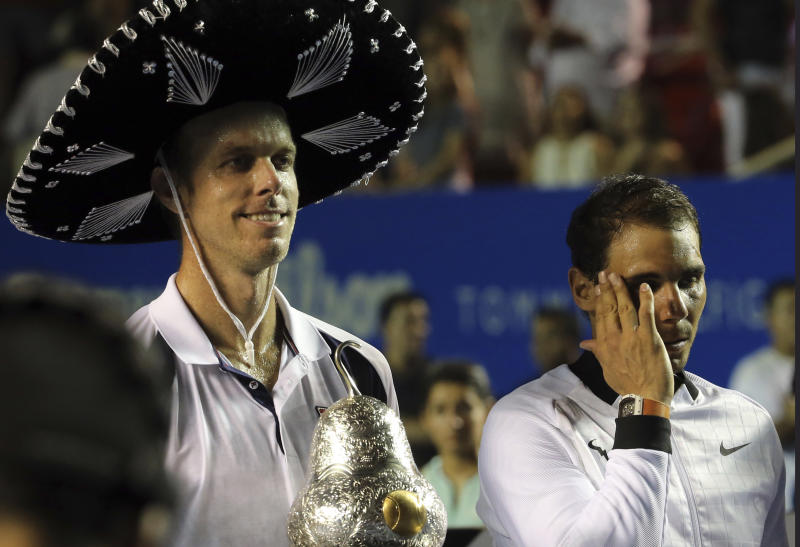 Nadal has no answer to tough Querrey