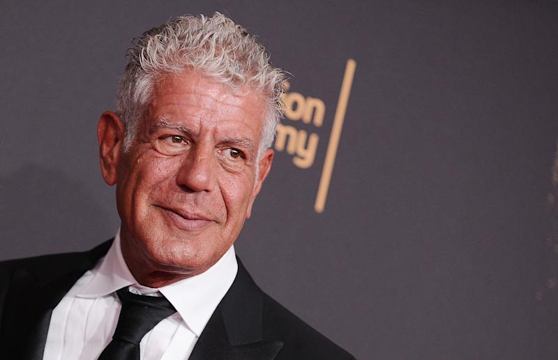 Anthony Bourdain attends the 2017 Creative Arts Emmy Awards on Sept. 9, in Los Angeles, CA. (Jason LaVeris via Getty Images)