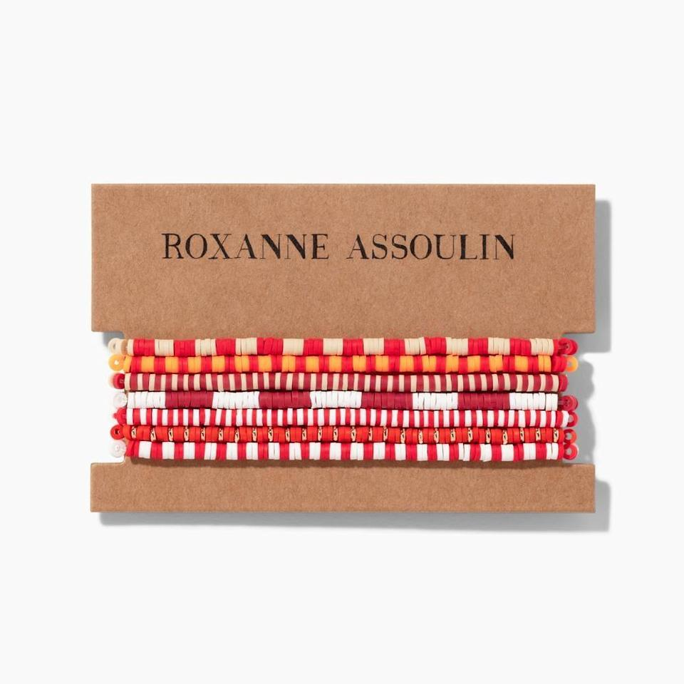 <p>Have an arm party with these fun <span>Roxanne Assoulin Color Therapy The Little Set</span> ($75) bracelets.</p>