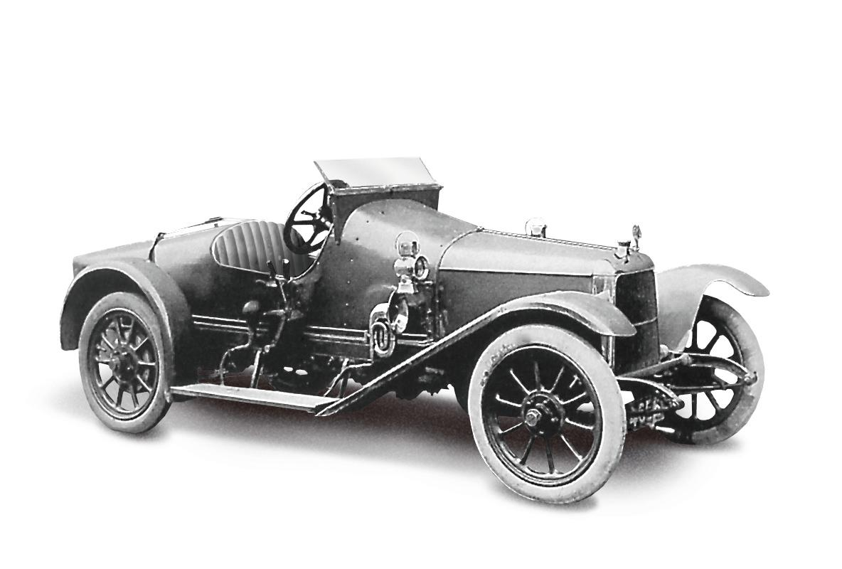 2.	Coal Scuttle (1915) - The first Aston Martin (Registered on 16th March). It is christened 'Coal Scuttle' and powered by a 1389cc Coventry Climax engine (AMHT)