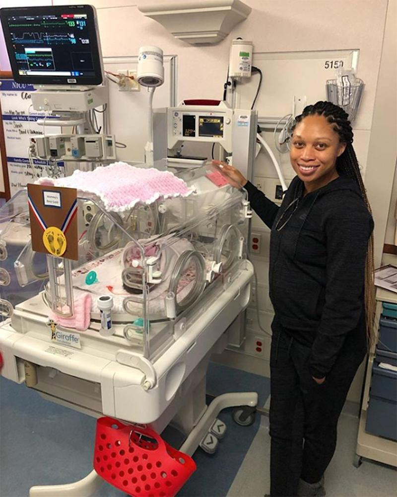 Allyson Felix Returning to Track for First Time After Welcoming Daughter 2 Months Early
