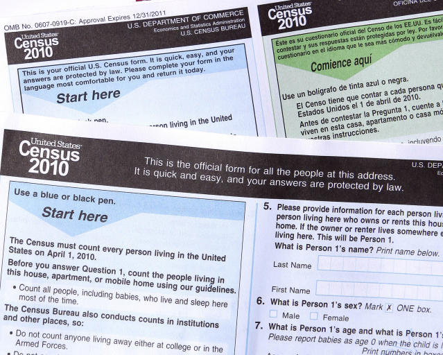 The 2020 U.S. Census will add a question about citizenship status, a move that brought swift condemnation from many Democrats, who said it would intimidate immigrants and discourage them from participating. (Photo: Ross D. Franklin/AP)